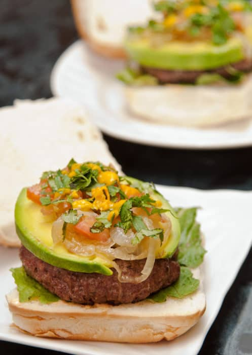 hamburguesas a la peruana
