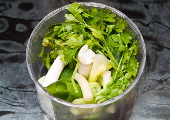 ingredientes pescado en salsa verde