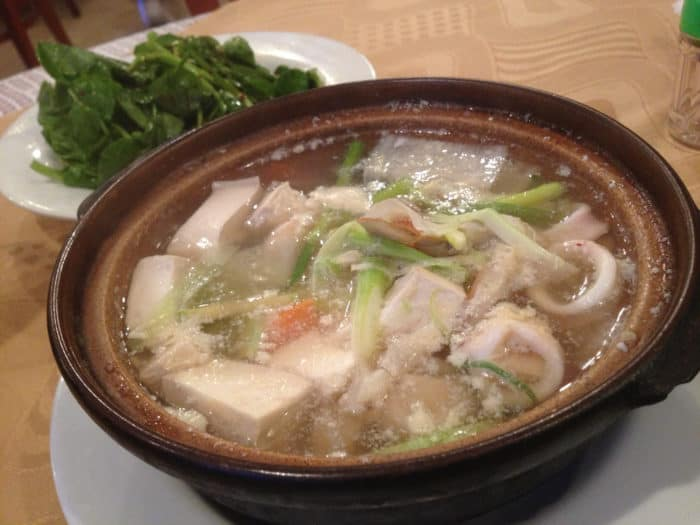 sopa de mariscos coreana