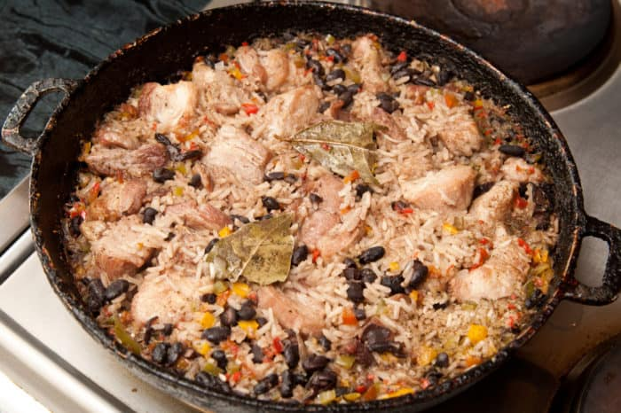 arroz congri cubano