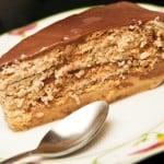 torta de galletas maria lista