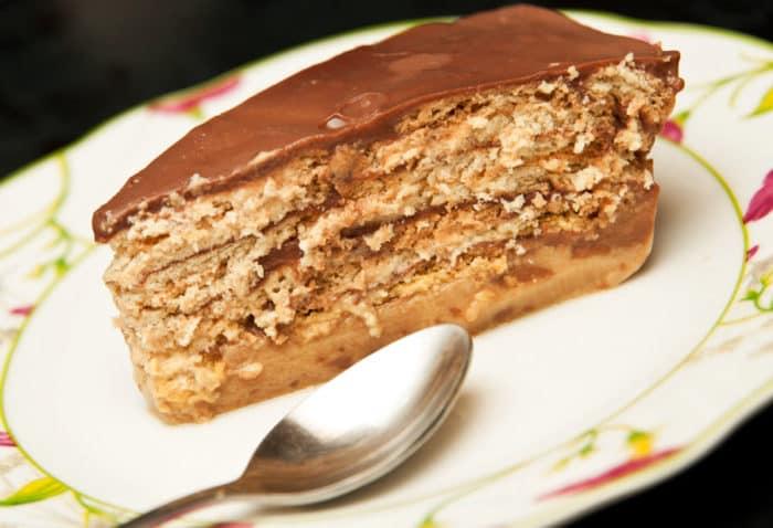 torta de galletas maria