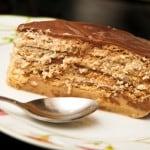torta de galletas maría