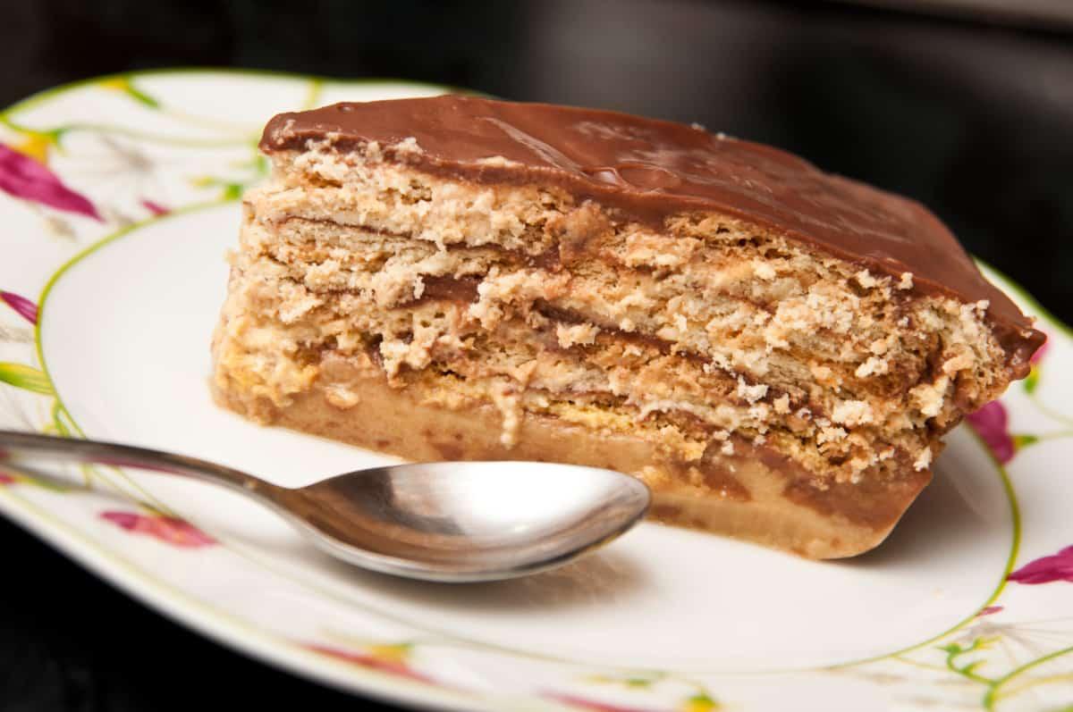 tarta de galletas maria casera