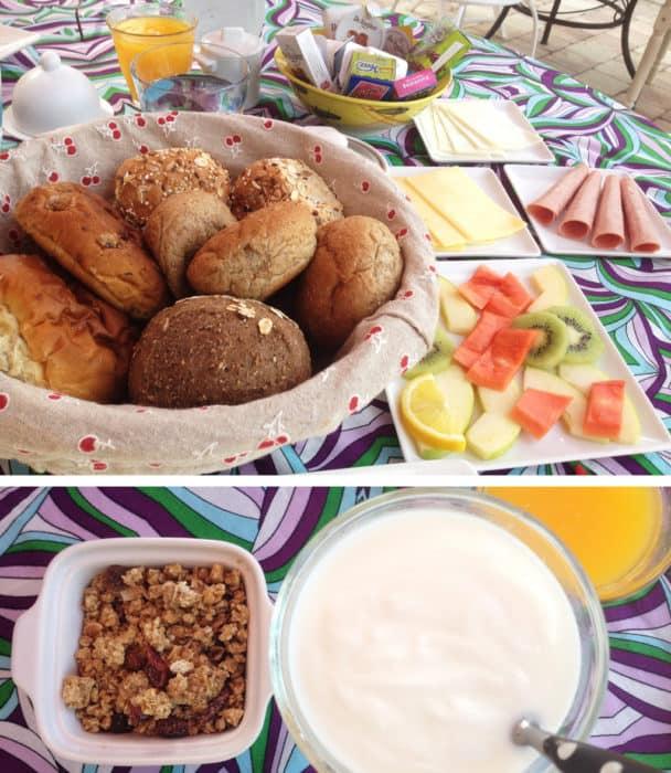 villa tokara breakfast