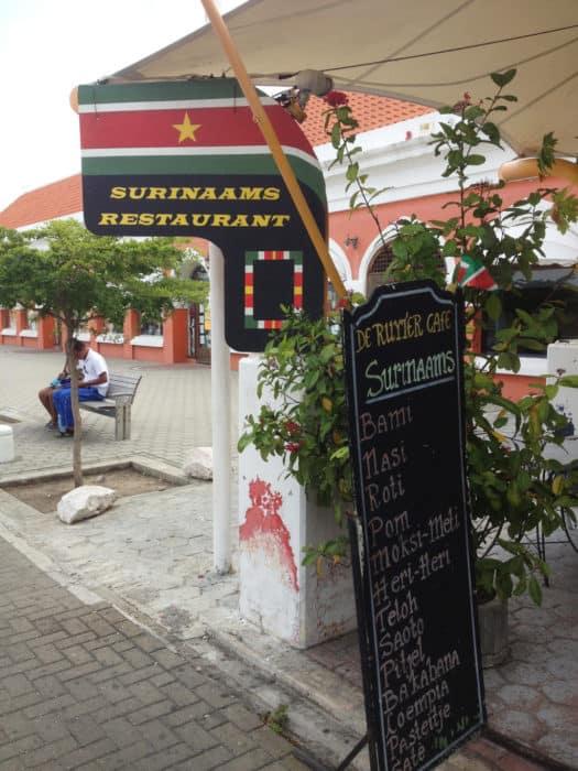 surinamese restaurant in willemstad