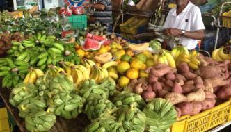 Paseando por los mercados en Curazao