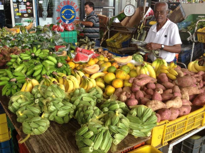 vegetales new market