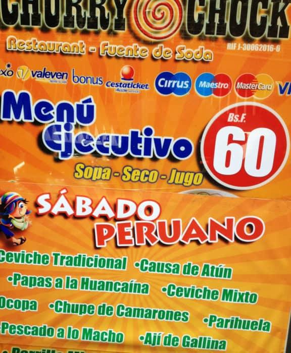 restaurant de comida peruana