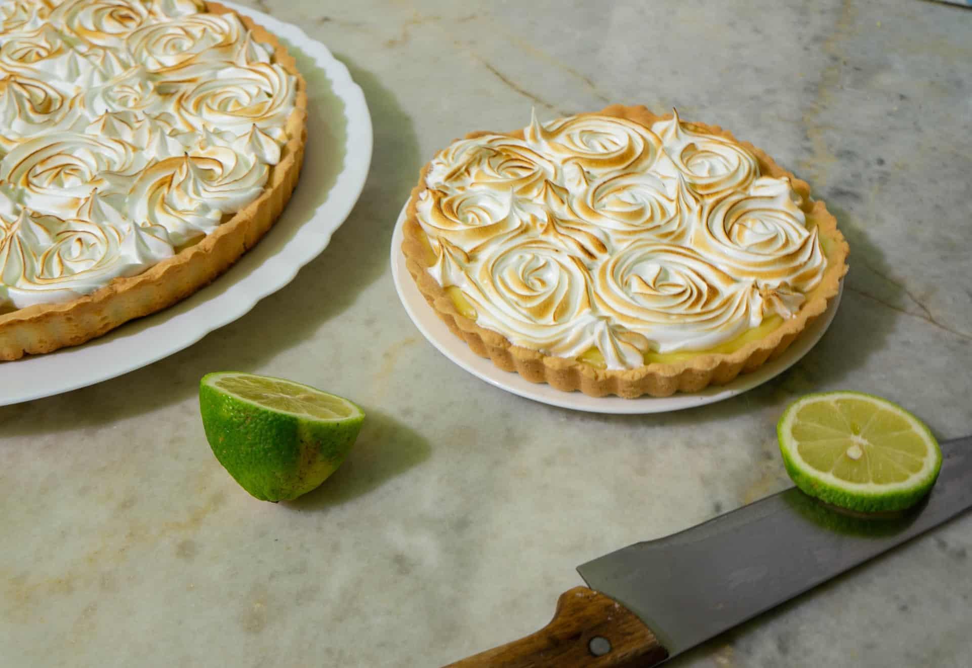 receta de pie de limon