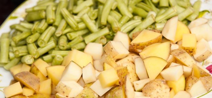 ingredientes curry vegetariano