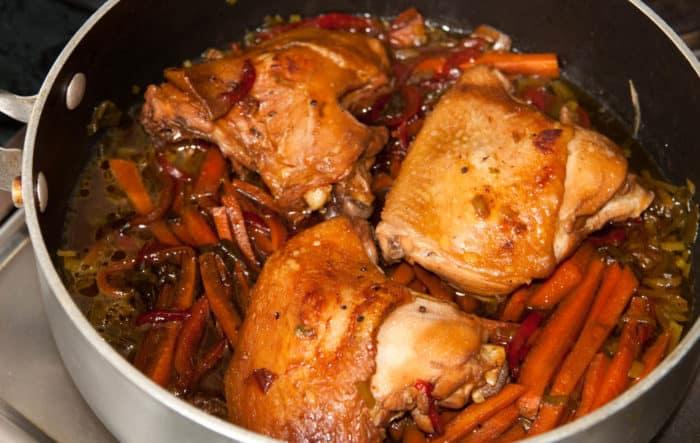 10 recetas de muslos de pollo al horno estofados - Como cocinar pollo al horno ...