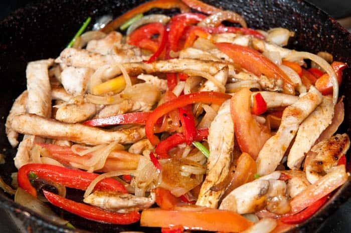 Fajitas de pollo en 20 minutos receta r pida y sencilla for Cocina facil y rapida