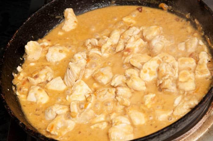 Pechugas de pollo con salsa de verduras recetas de - Pechuga d pollo en salsa ...