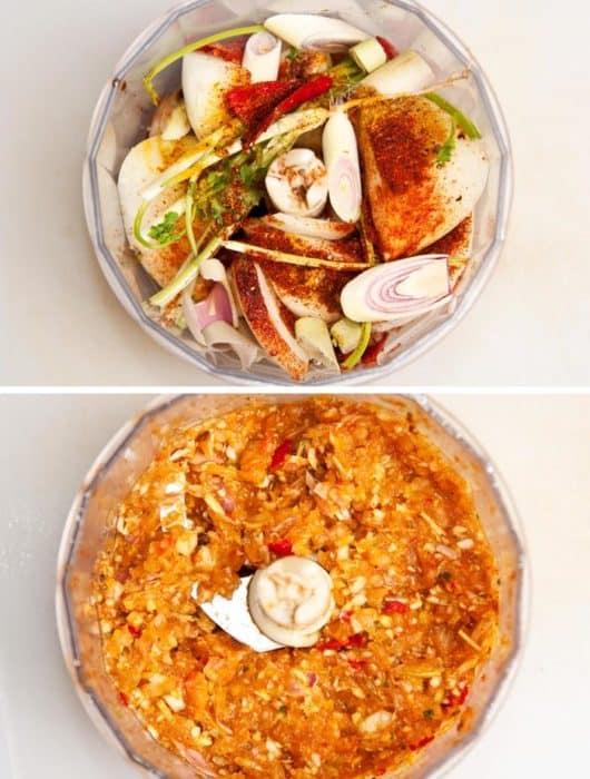 pasta de curry
