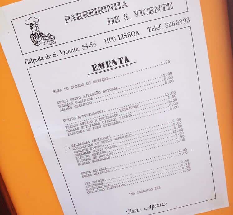 menu lisboa