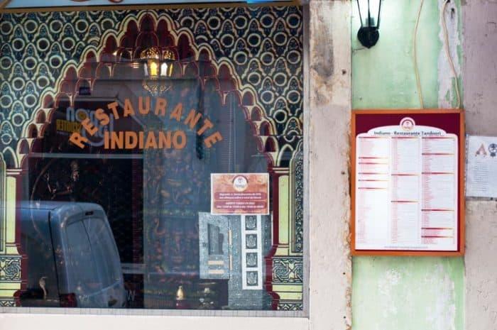 natraj restaurante indiano lisboa
