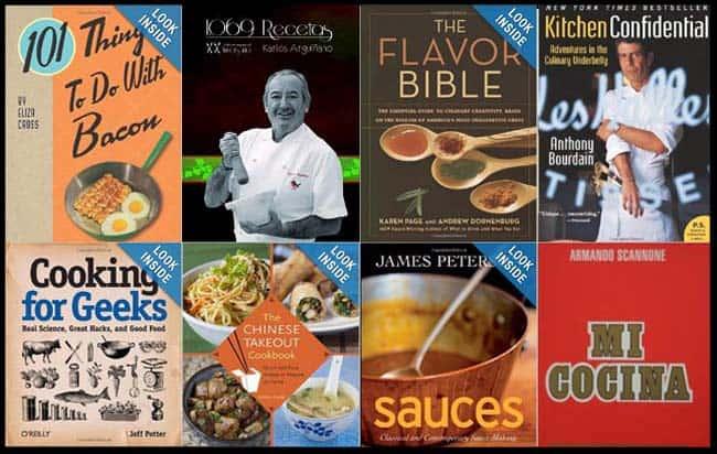 12 libros de cocina que necesitas tener