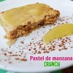 Receta de pastel de manzana: postre saludable