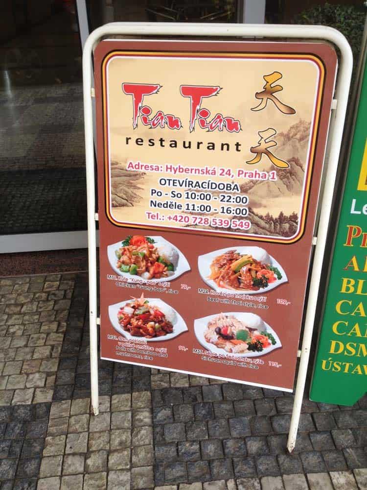 restaurant chino en praga