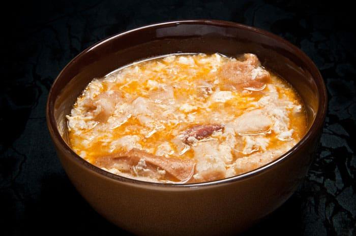 como hacer sopa de ajo