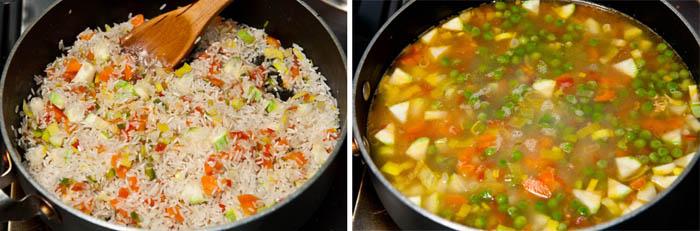 C mo hacer arroz con verduras receta de arroz f cil - Como hacer verduras salteadas ...