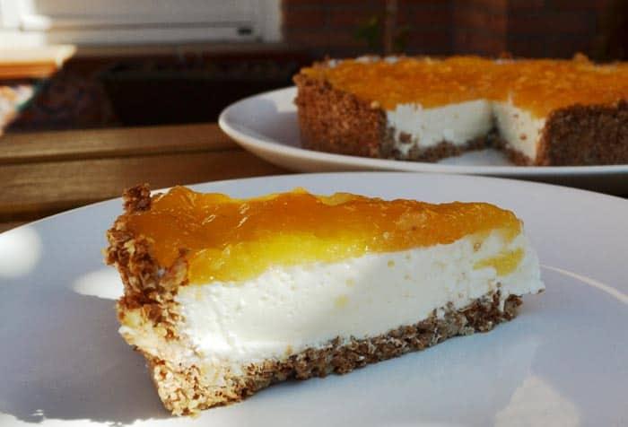 receta de tarta de yogurt