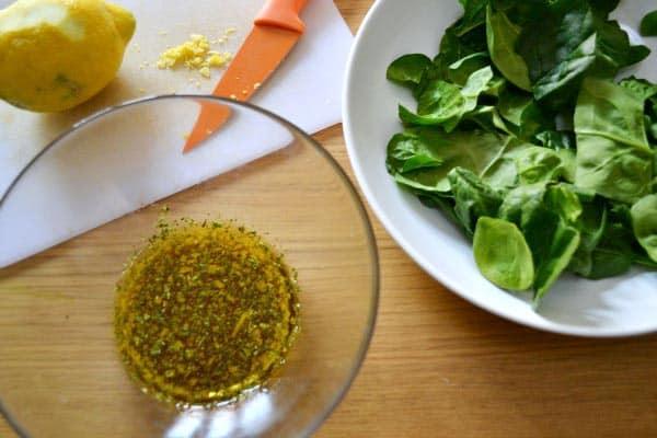 receta de aderezo de miel y limon