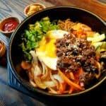 receta coreana bibimbap