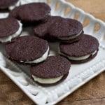 Cómo hacer galletas óreo caseras
