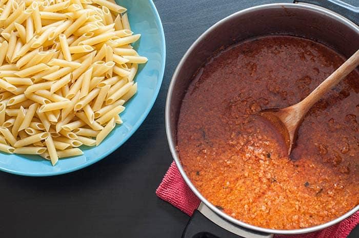 Receta f cil para hacer salsa bolo esa casera comedera com - Salsas faciles de hacer ...