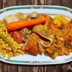 plato grande con cocido maragato