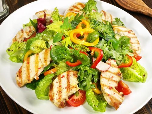 Comidas para dieta con pollo