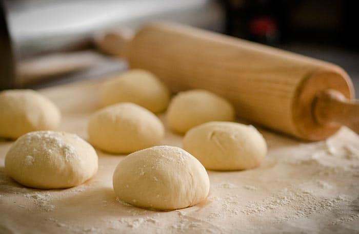 Receta de pastel de pan de fondo del horno