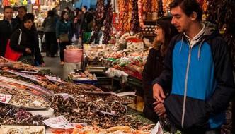 Visitar el Mercado de La Boquería en Barcelona