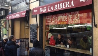 Bar La Ribera: inolvidables callos a la Madrileña en Madrid