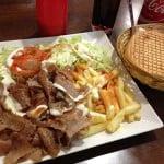 Kebabs a 2€ en Madrid: Döner Kebab Delicias