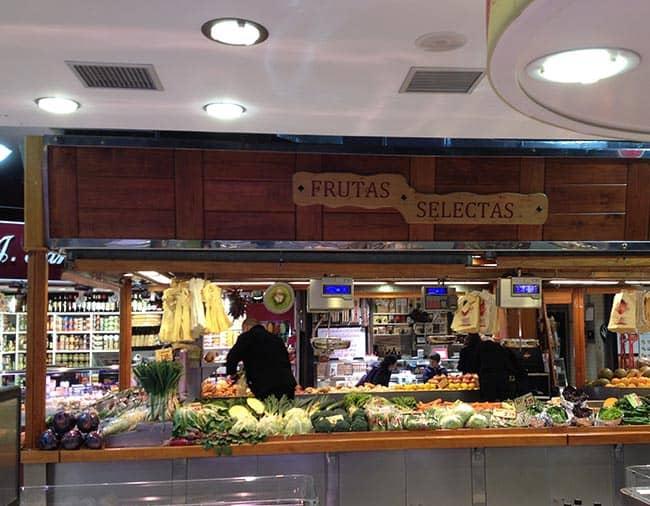 frutas mercado de la paz
