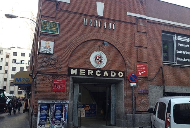 mercado de los mostenses madrid