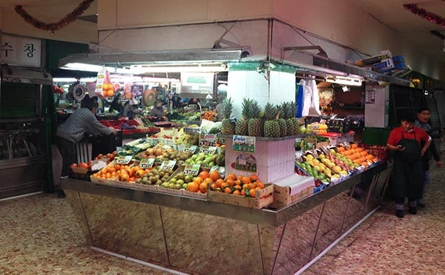 verduras mercado los mostenses