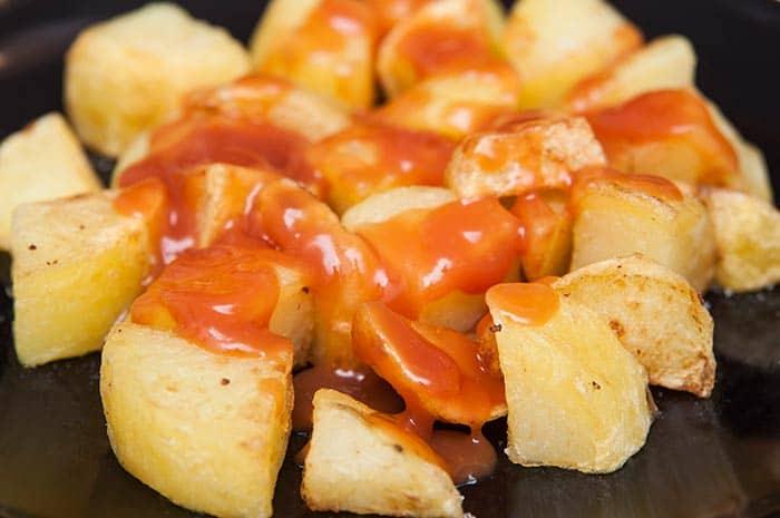 como hacer salsa brava española