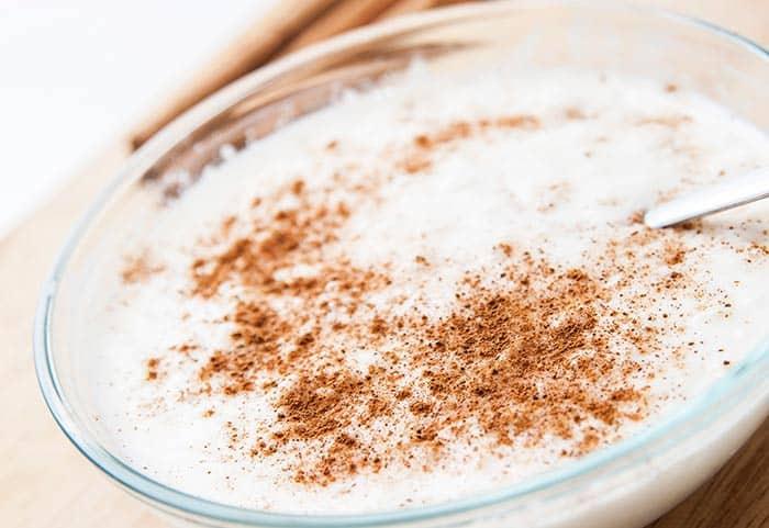 receta de arroz con leche postre facil