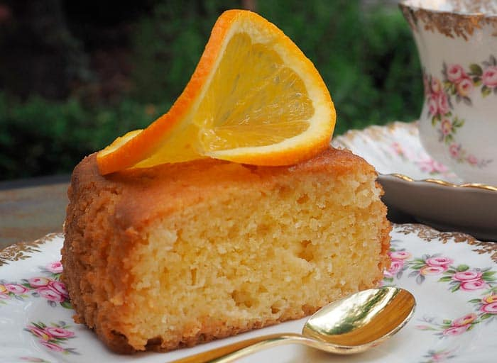 receta bizcocho de naranja casero