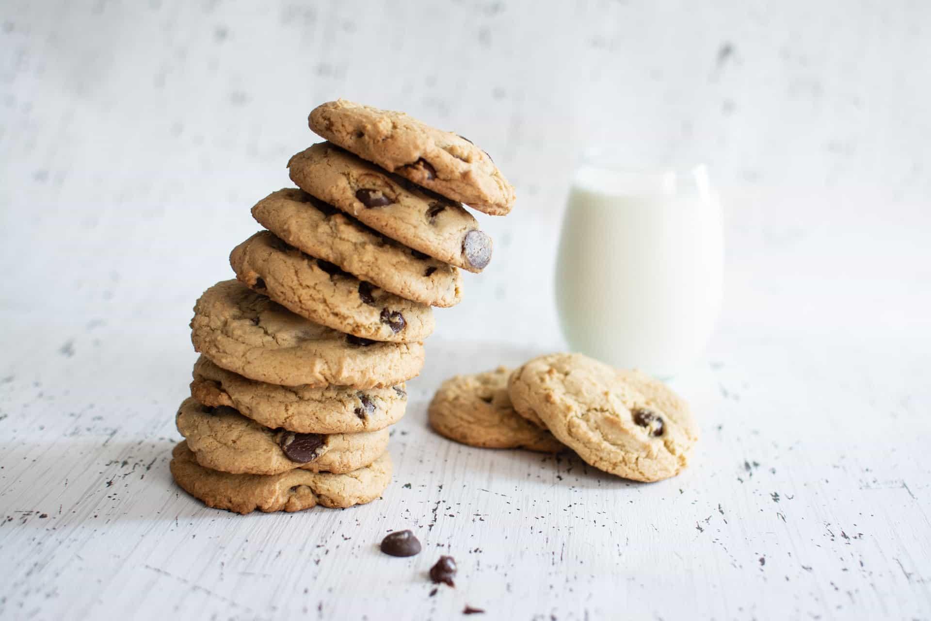 receta de galletas con chispas de chocolate