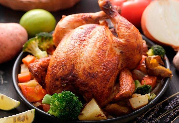 Pollo al horno f cil receta paso a paso comedera com - Como cocinar pollo al horno ...