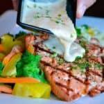 salmon al horno con patatas receta