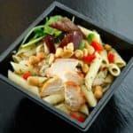 Receta ensalada de pasta con pollo fácil