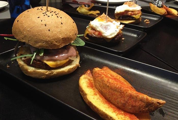 hamburguesa vegetariana copenhagen restaurant