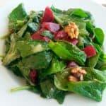 6 recetas de ensalada de espinacas fáciles
