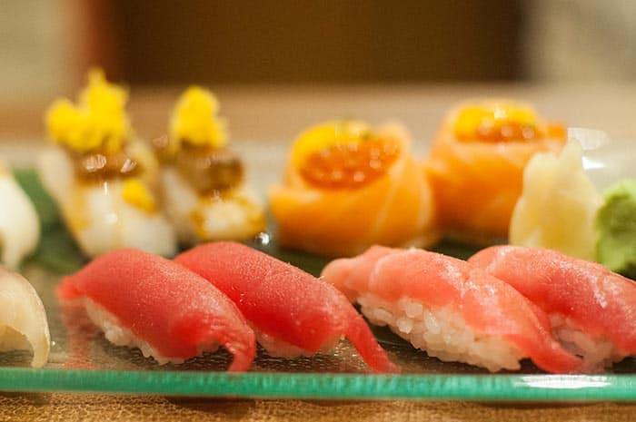 sushi restaurante ikigai madrid